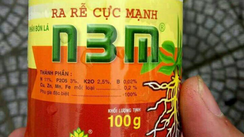 N3M: Phân bón lá ra rễ cực mạnh