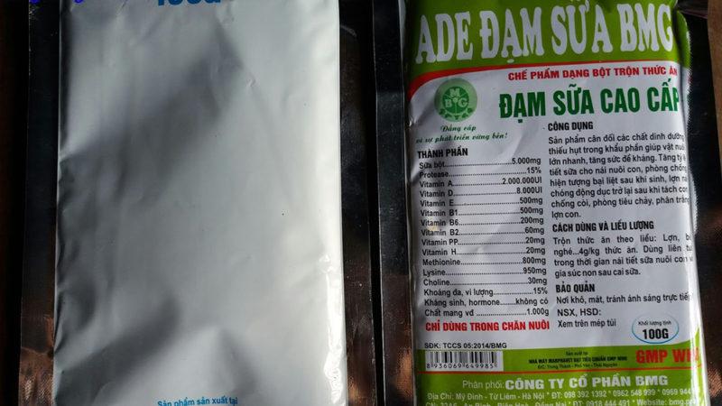 ADE đạm sữa BMG – Đạm Sữa Cao Cấp