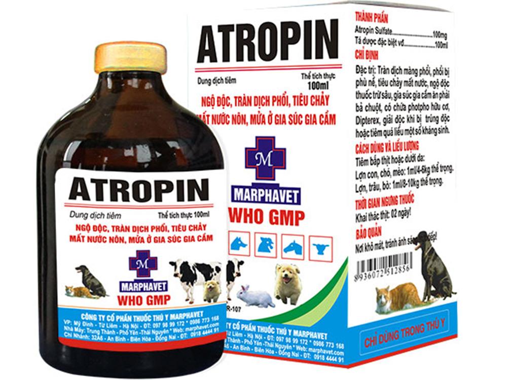 Thuốc thú y ATROPIN