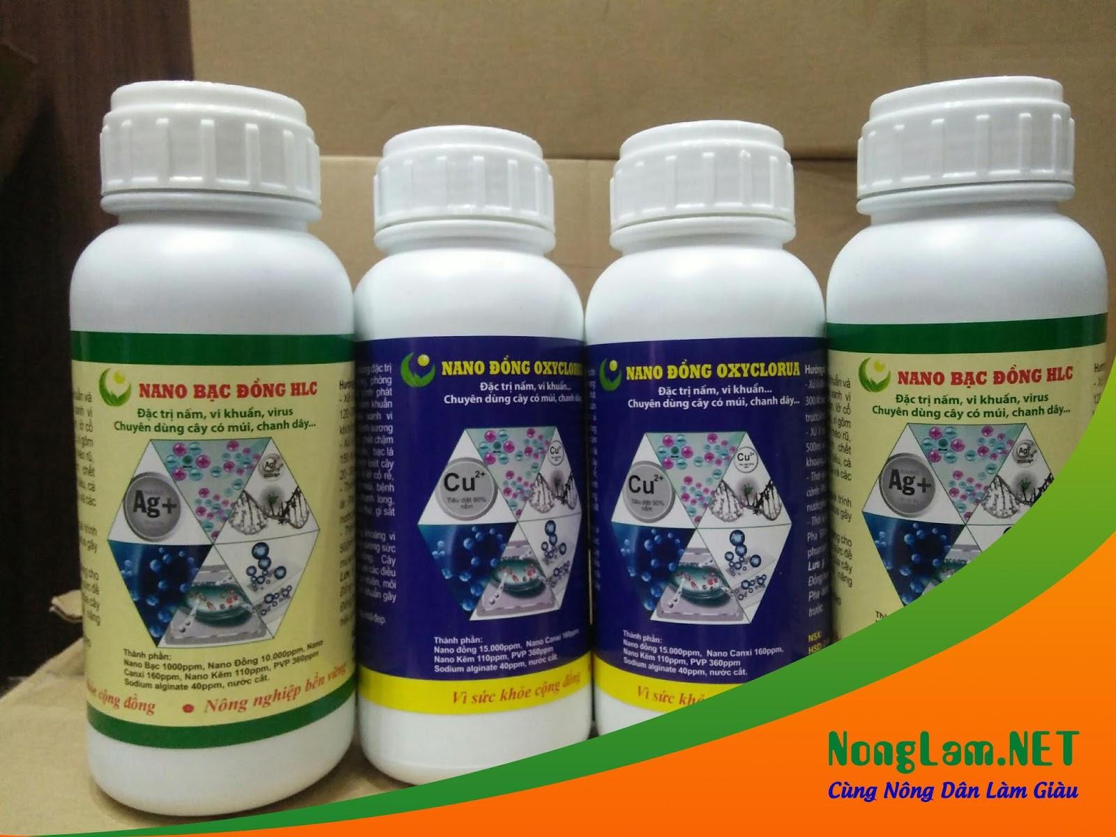 Nano Bạc Đồng HLC