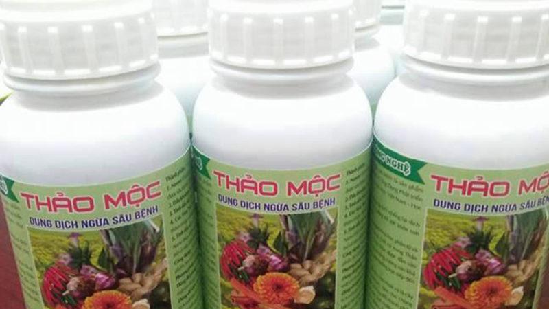 THẢO MỘC HLC: Dung dịch phòng ngừa sâu bệnh hại cây trồng